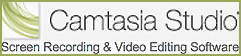 Always more than a simple screen recorder, Camtasia Studio will help you generate sophisticated, effective screencasts—faster, easier, and with more consistency.